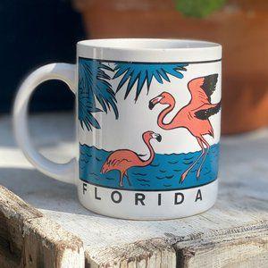 Vintage Florida Flamingo Mug